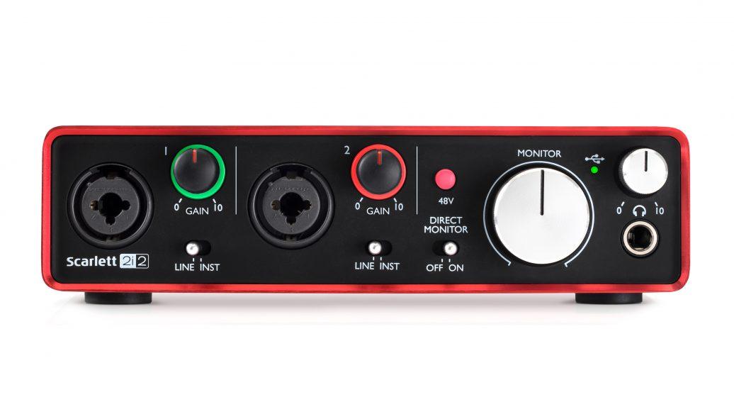 scarlett 2i2 2 gera o interface para grava o de udio world music. Black Bedroom Furniture Sets. Home Design Ideas